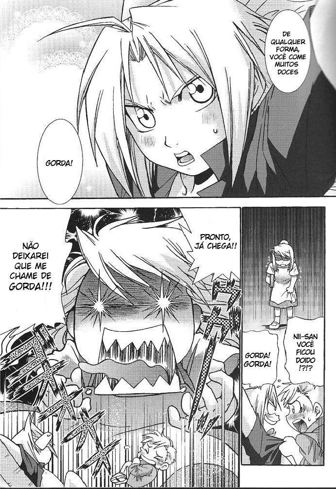 Fullmetal Alchemist - Experiência gay com irmão (5)