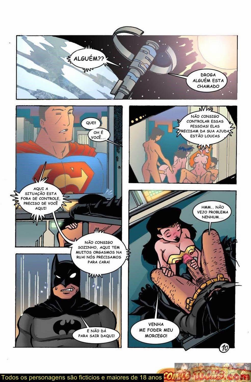 Jovens Titans Pornô - Cyborg bem dotado (11)