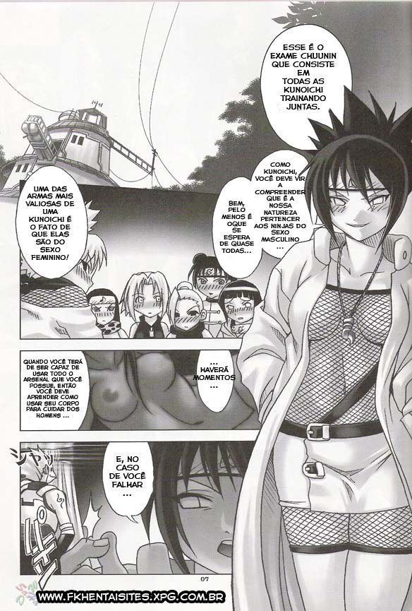 Naruto hentai - Exame de sexo da Anko (2)