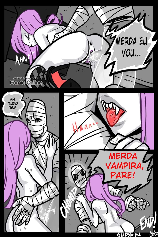 Senhor invisível - Comics pornô (11)