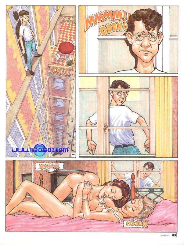 Espiando às lésbicas pela a janela