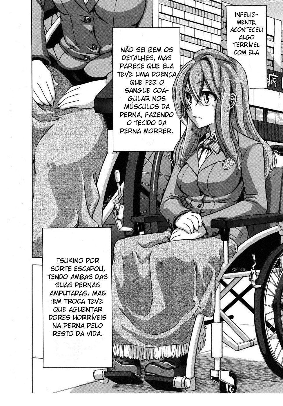 Fodendo uma cadeirante na escola