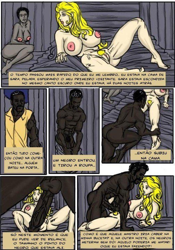 A madame dos escravos – Contos Pornô