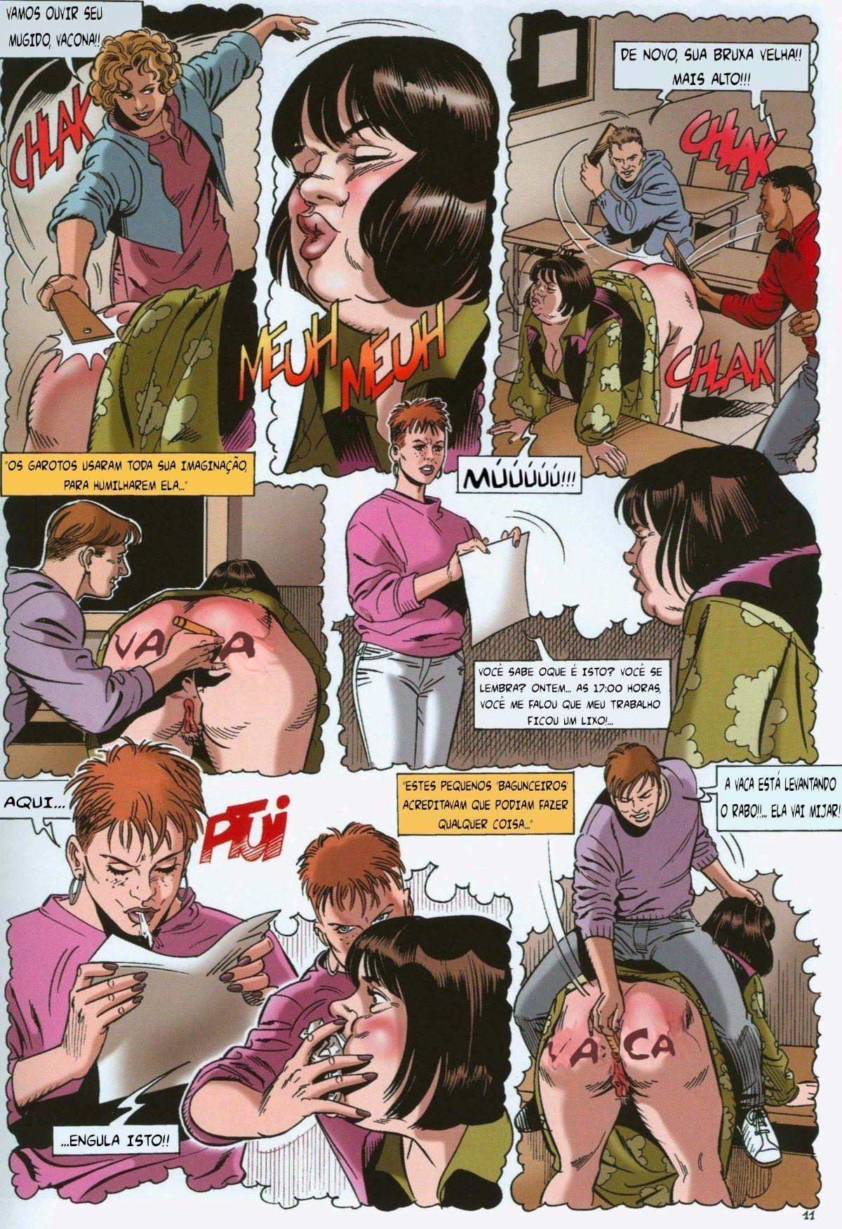 A vingança da ninfomaníaca - Contos Eróticos (12)