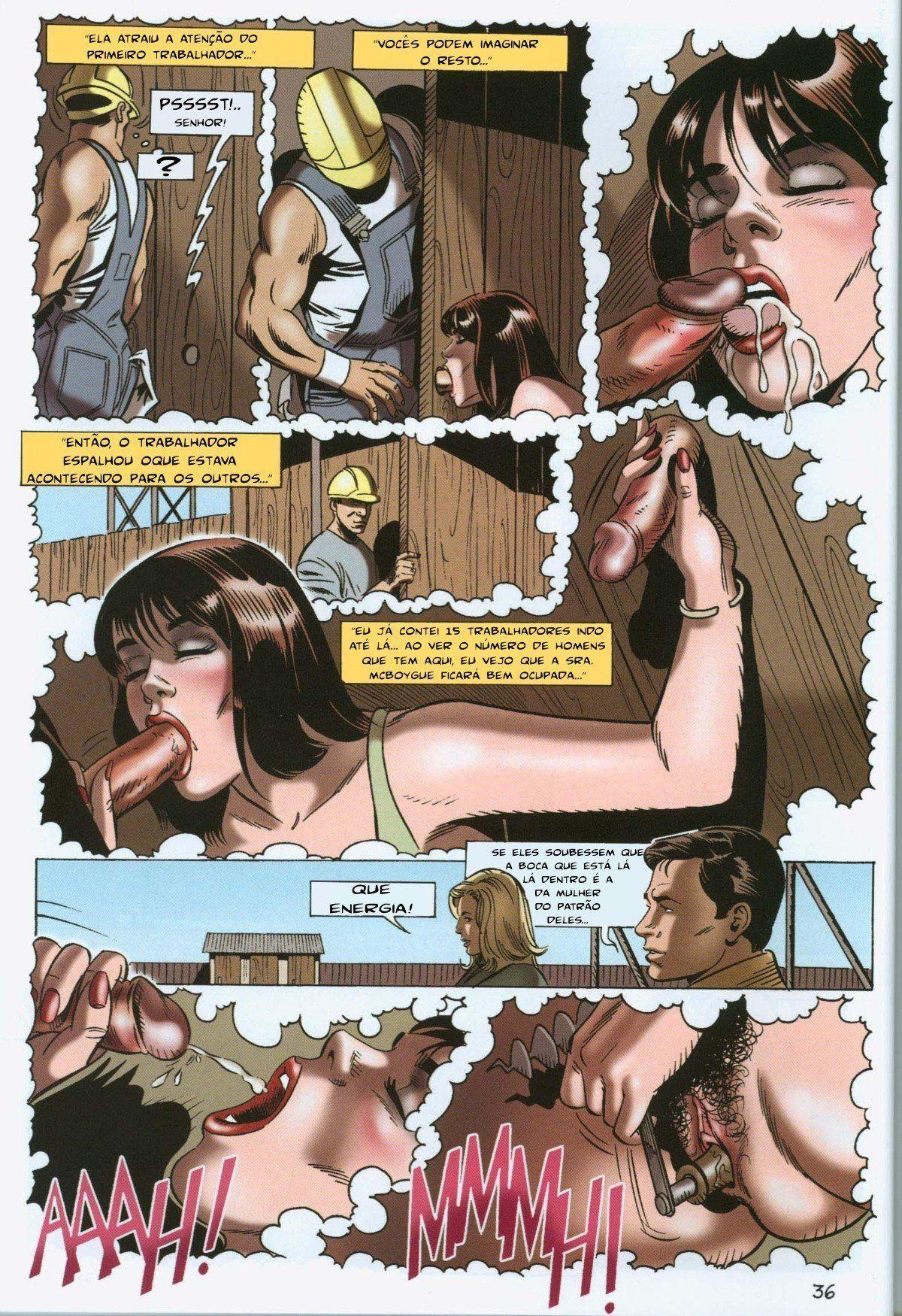 A vingança da ninfomaníaca - Contos Eróticos (37)