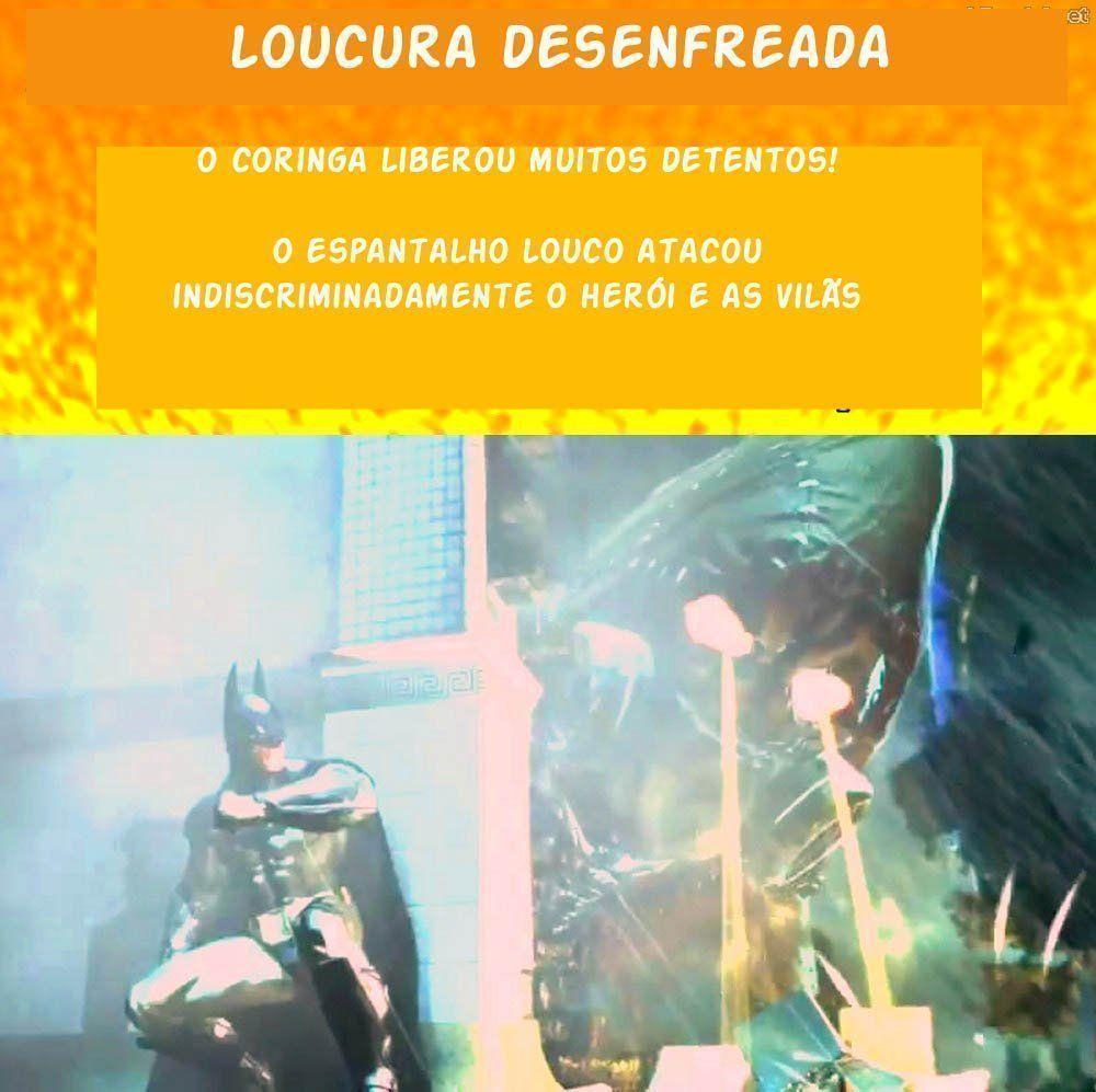 Asilo Arkham - Heróis XXX (15)