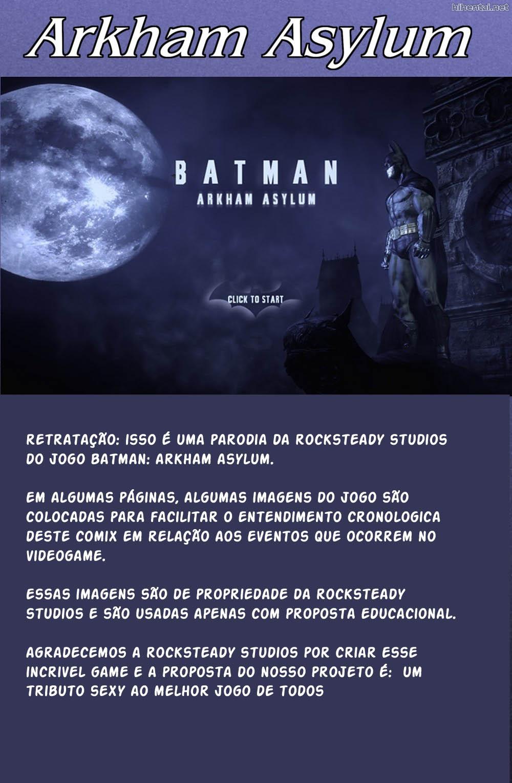 Asilo Arkham - Heróis XXX (2)