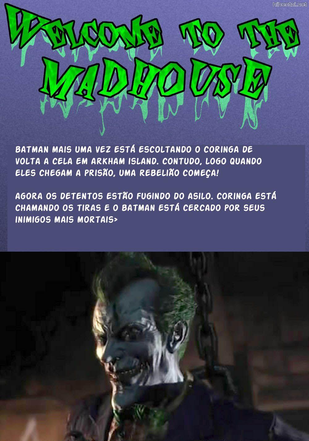 Asilo Arkham - Heróis XXX (3)