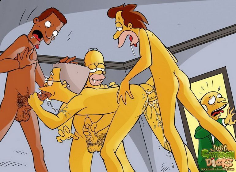 Cartoon-gay-dos-Simpsons-1