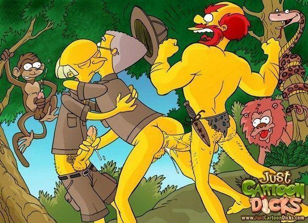 Cartoon-gay-dos-Simpsons-12