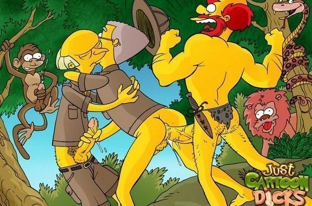 Cartoon-gay-dos-Simpsons-13