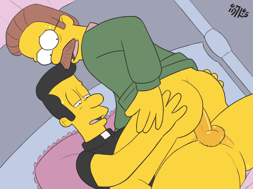 Cartoon-gay-dos-Simpsons-3