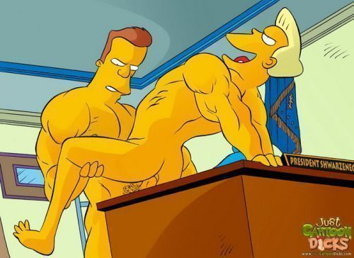Cartoon-gay-dos-Simpsons-4