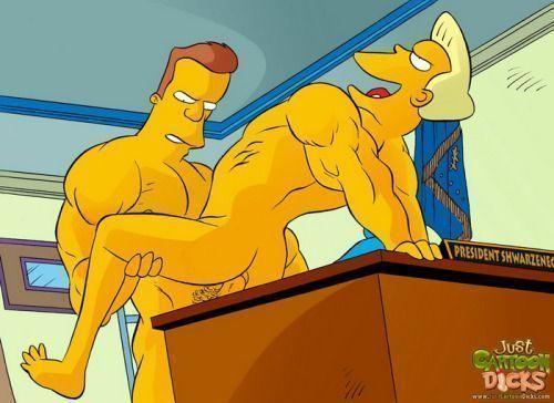 Cartoon-gay-dos-Simpsons-4