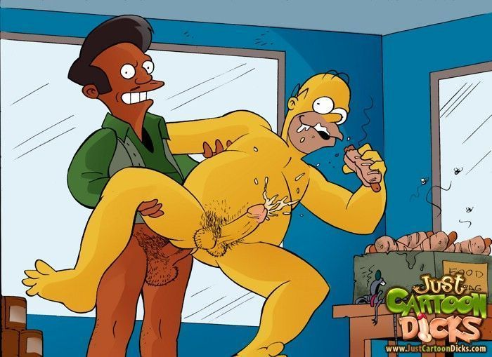 Cartoon-gay-dos-Simpsons-7