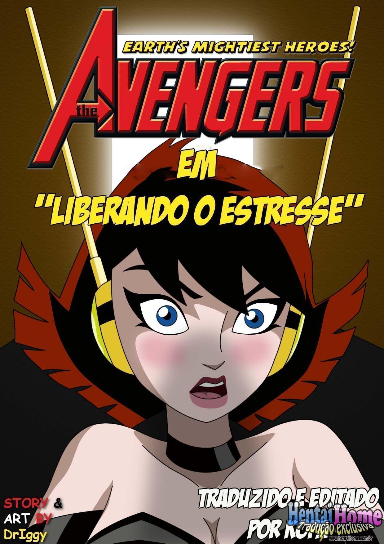 Vingadores XXX - Vespa e Hulk (1)