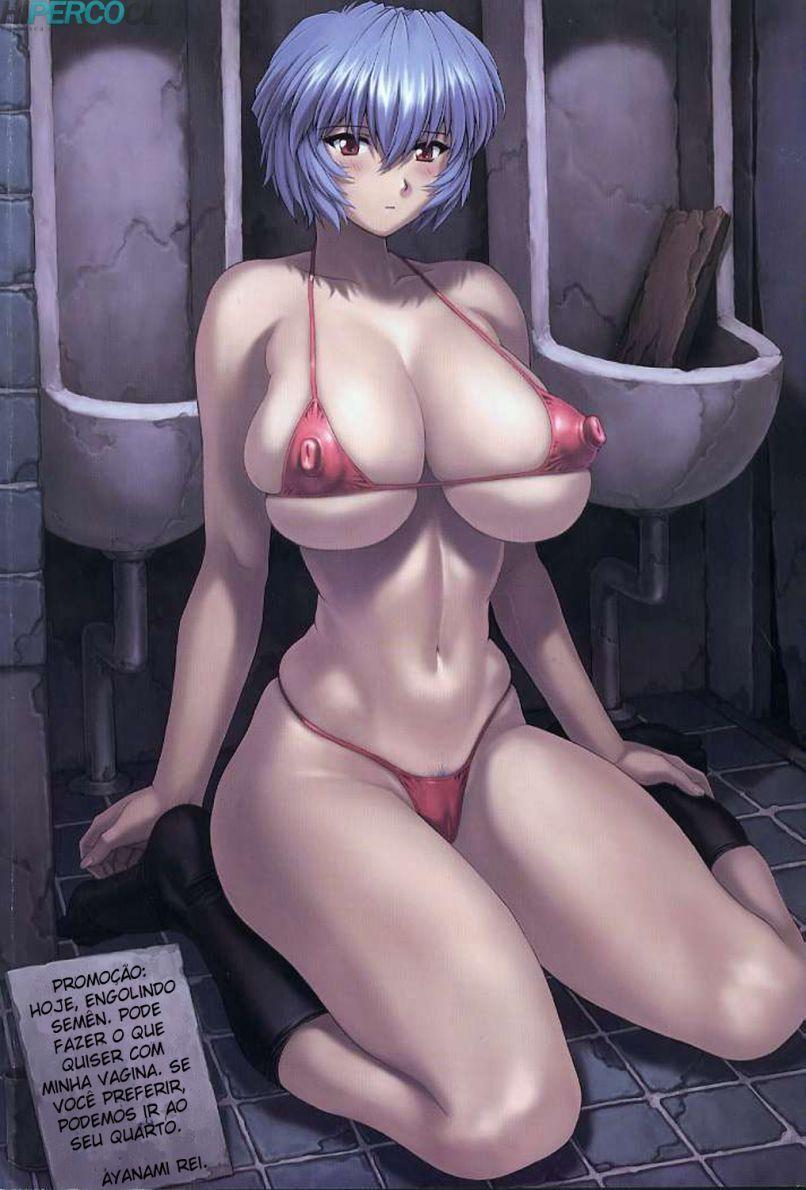 Ayanami Rei 05 – Gozando dentro