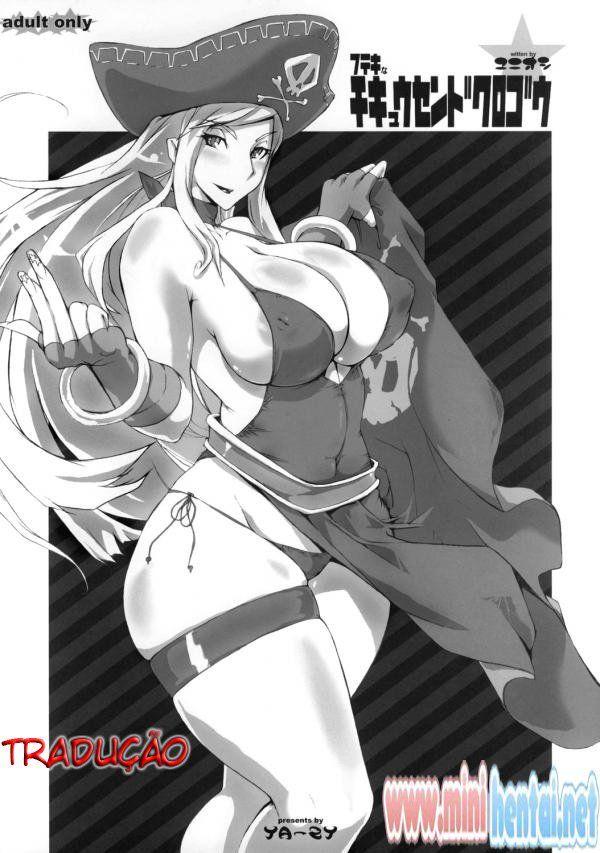 A capitã das porra – Hentai hq