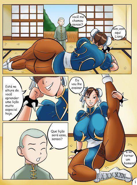 Lição da Chun Li – Street Fighter  Hentai