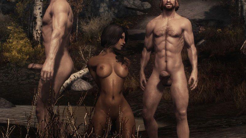 Os caçadores e a índia