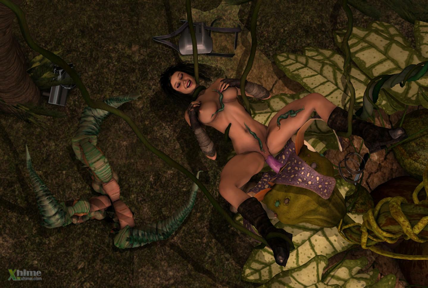 Selva negra hentai 3D