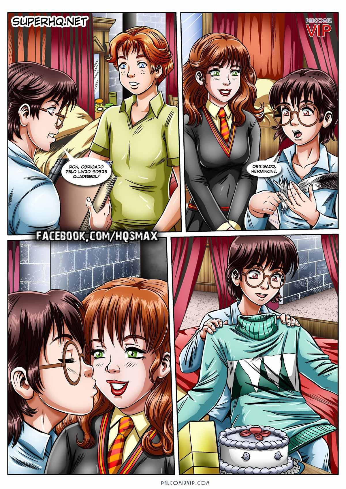 O presente da Hermione – Harry Potter HQ Erótico