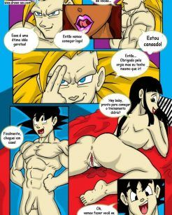 Goku no harém – Dragon Ball XXX