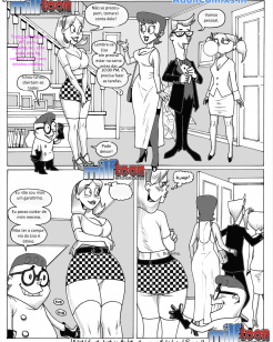 Dexter e a babá – Cartoon Erótico
