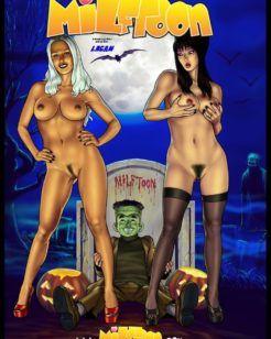 Família monstro incesto comics