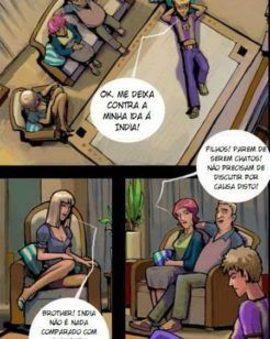 A família pervertida – Quadrinhos de incesto