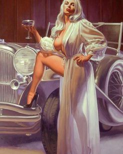 Desenhos eróticos de belas mulheres do cinema