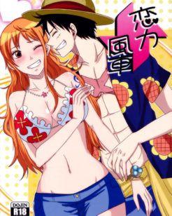 Luffy faz amor com Nami