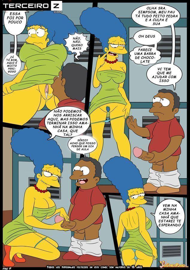 Marge-e-o-garanhão-da-escola-OS-Simpsons-XXX-10