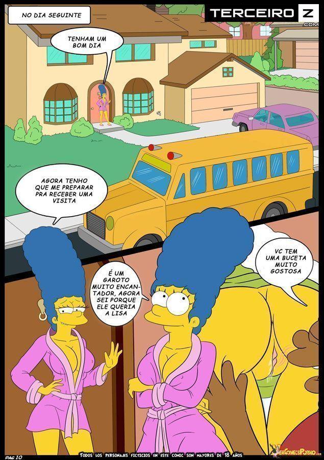 Marge-e-o-garanhão-da-escola-OS-Simpsons-XXX-11