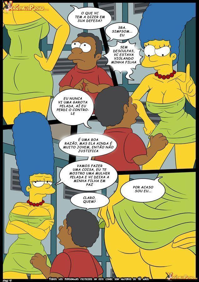 Marge-e-o-garanhão-da-escola-OS-Simpsons-XXX-5