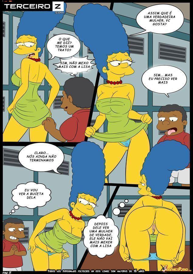 Marge-e-o-garanhão-da-escola-OS-Simpsons-XXX-6