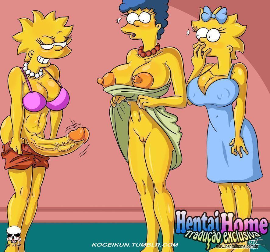 Filhas-Futanaris-Simpsons-1