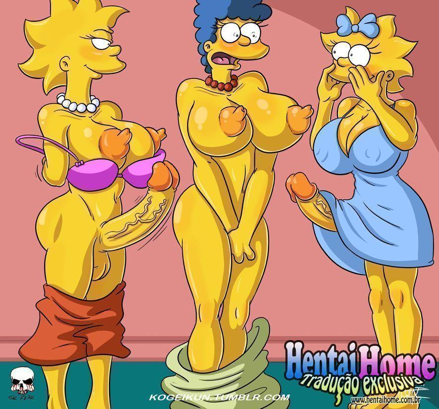 Filhas-Futanaris-Simpsons-2