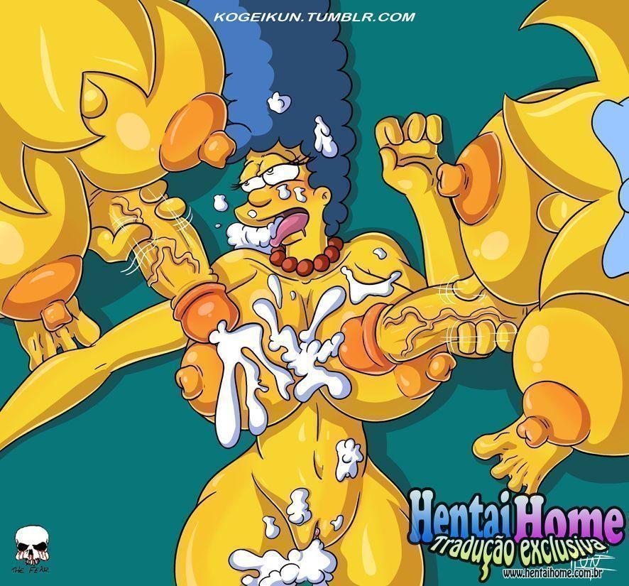 Filhas-Futanaris-Simpsons-5