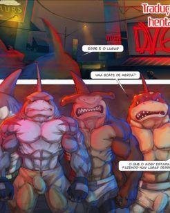 Somos tubarões machos