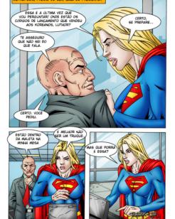 Super Moça a vadia de Lex Luthor