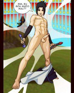 Os brinquedos sexuais de Sasuke