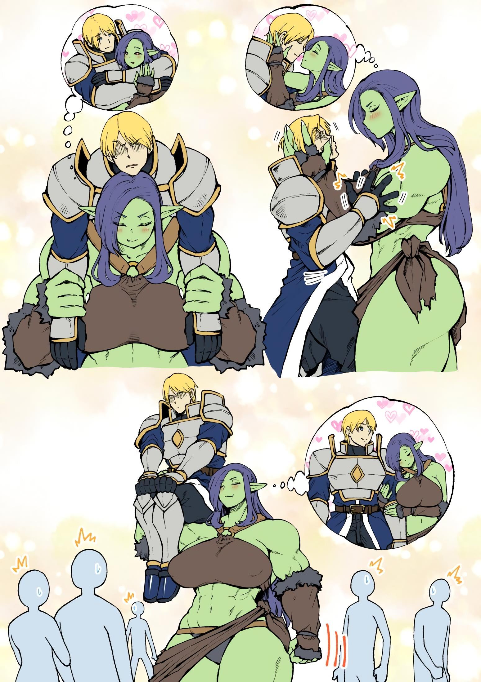 A Orc e o Cavaleiro