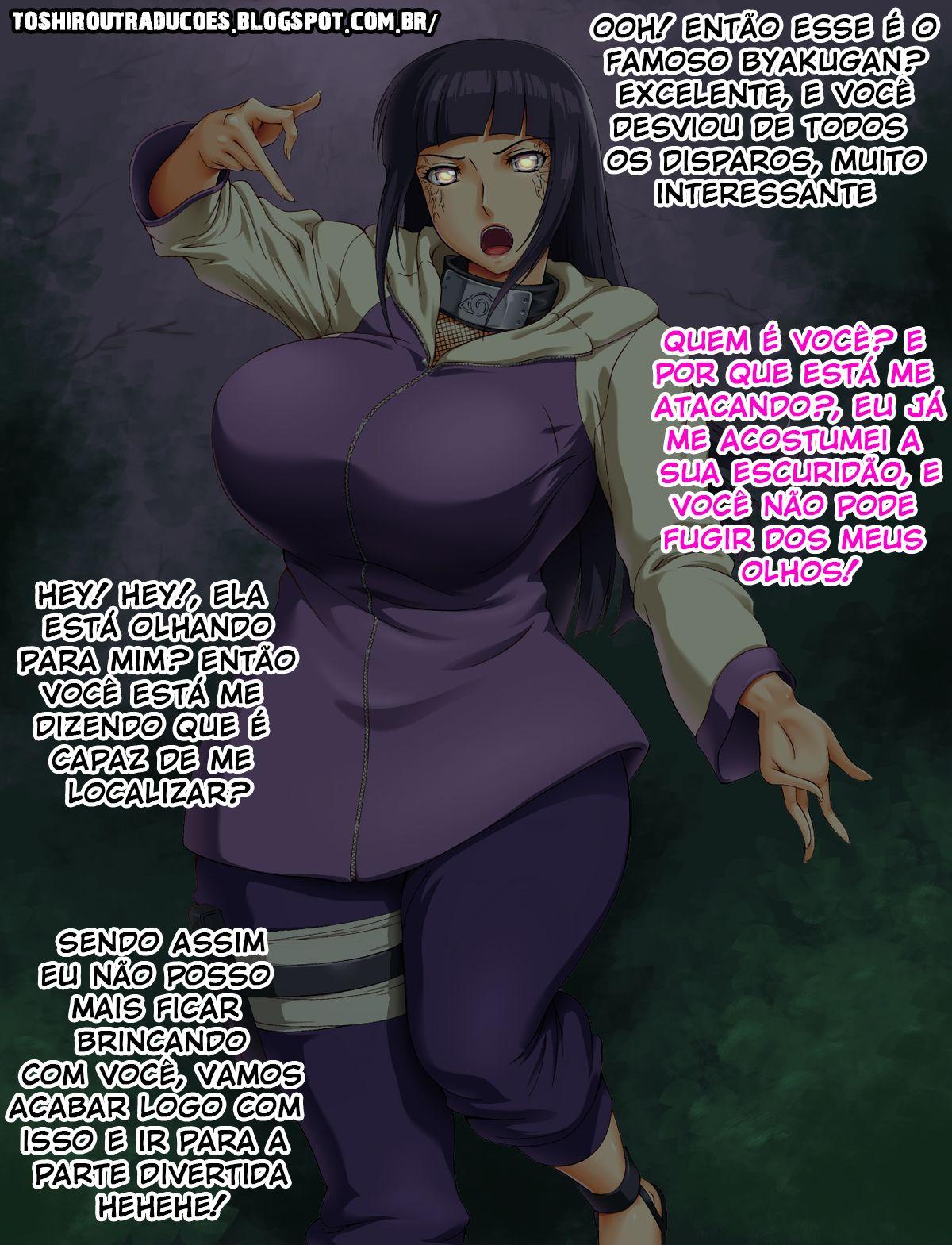 Hinata Hyuuga pega no escuro