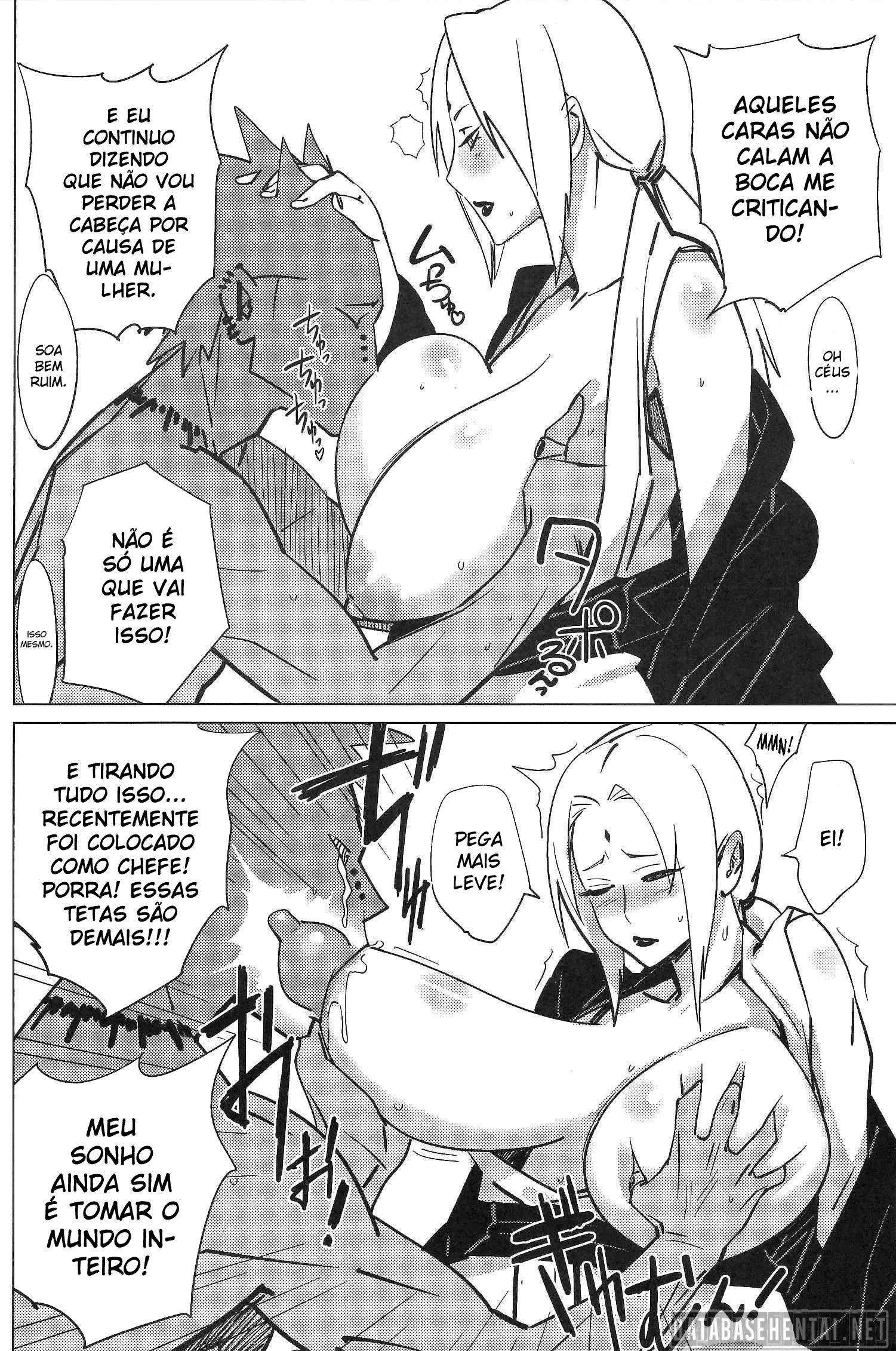 Pain vs. Tsunade Hentai