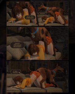 Scooby Doo à procura de pista