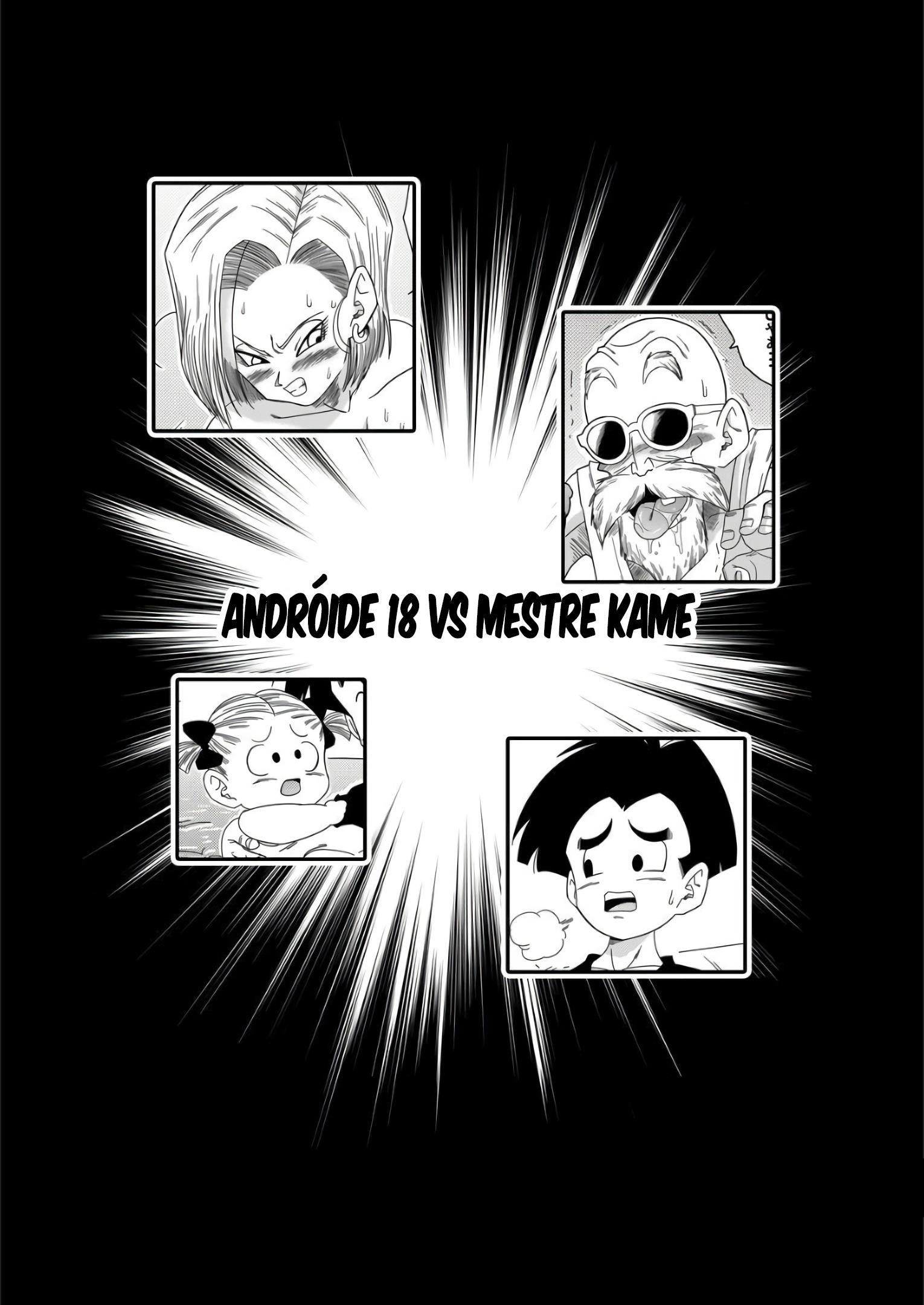 Andróide 18 VS Mestre Kame