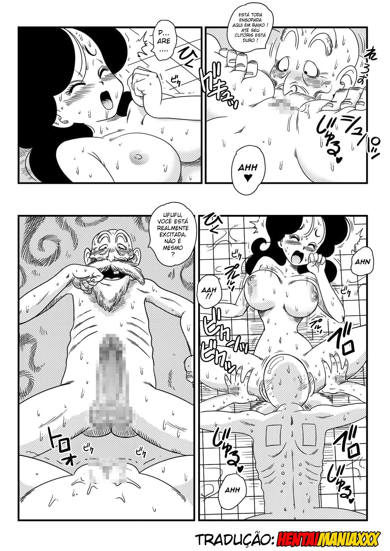 Dragon Ball: É trabalho duro cuidar do mestre !