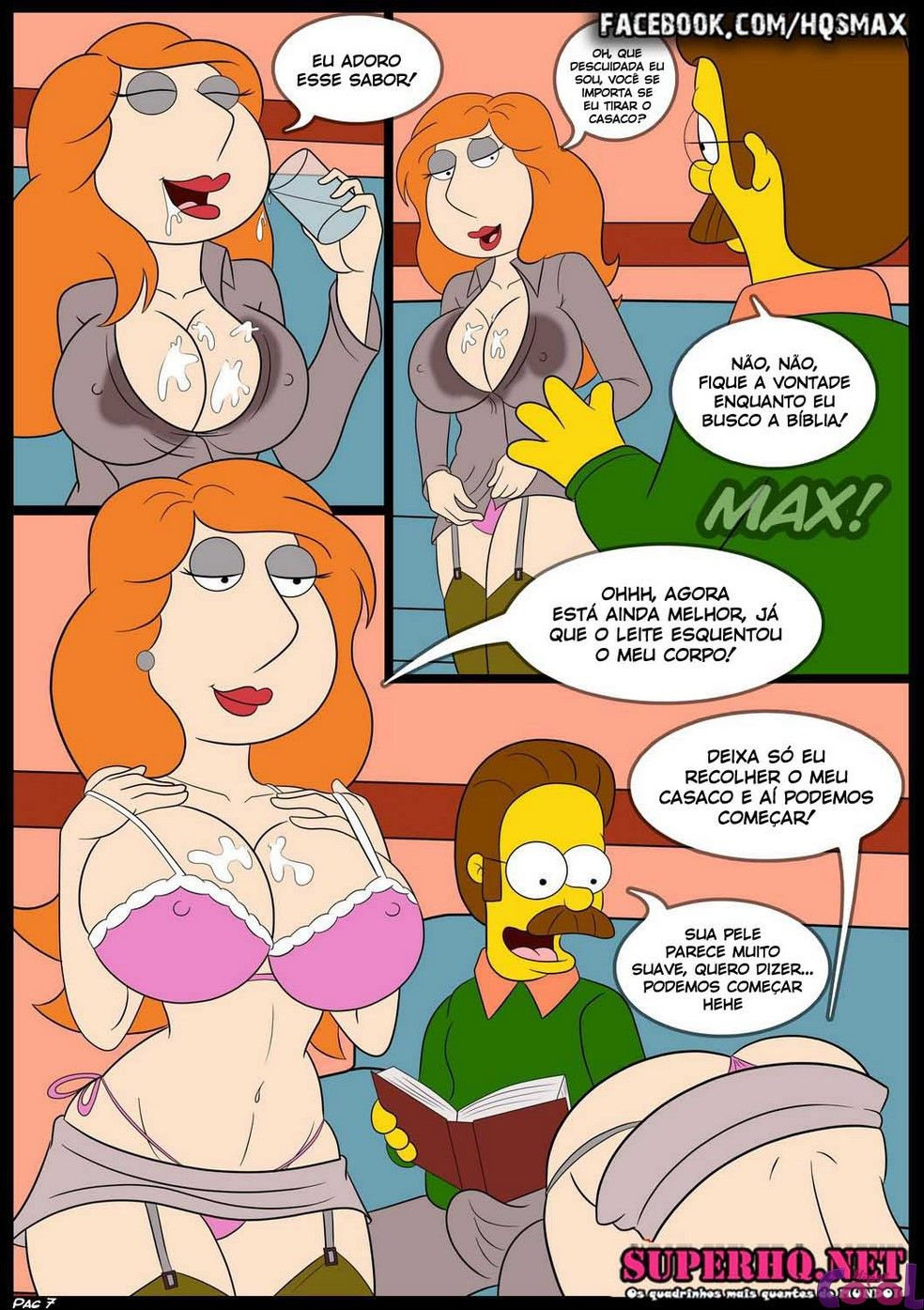 Simpsons XXX e Family Guy XXX – A competição 02