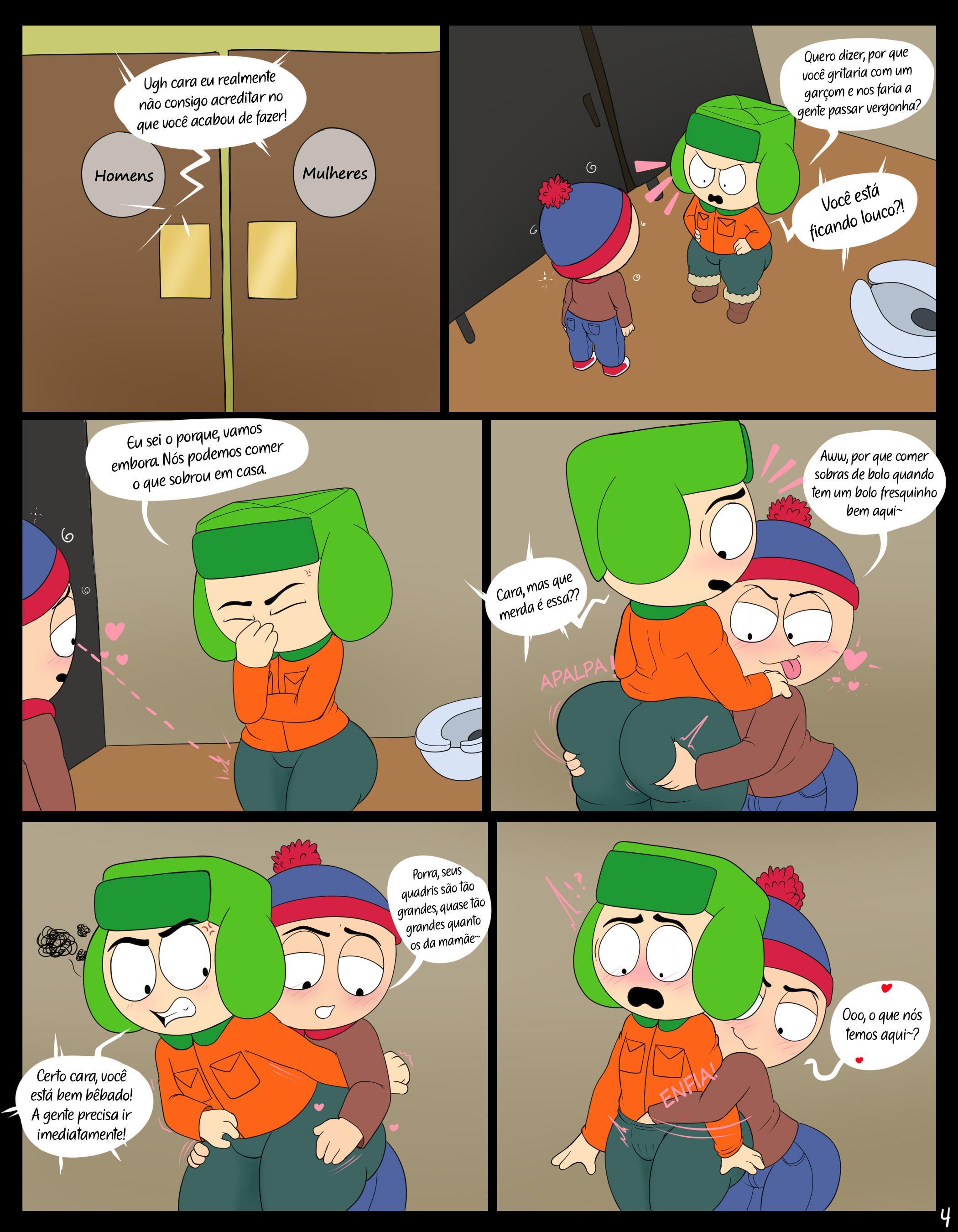 Stan e Kyle beberam demais!